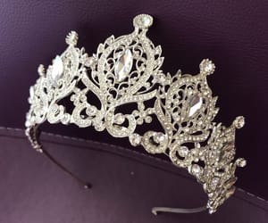 etsy, tiaras, and crystal crown image