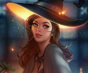 fantasy, Halloween, and witch image