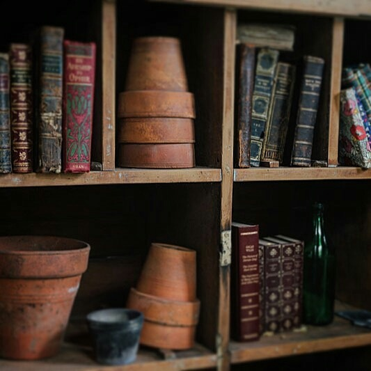 books, country, and country life image