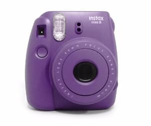 camera, polaroid, and png image