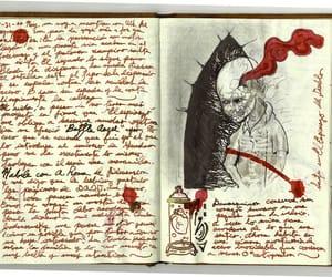 art, diary, and creative image