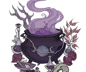 witch and potion image