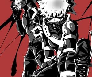 boku no hero, midoriya, and kacchan image