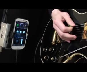 gadgets, guitarist, and video image