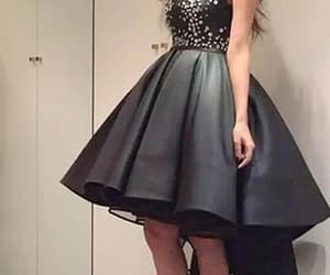 black prom dresses, short homecoming dresses, and a-line homecoming dresses image