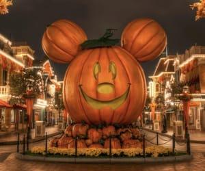 Halloween, pumpkin, and disney image