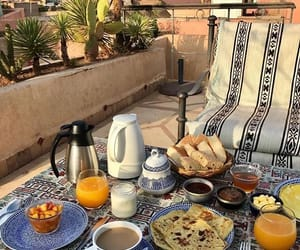 morocco, breakfast, and food image