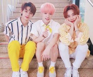 jun, Seventeen, and lee chan image