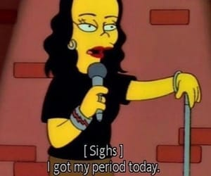 funny, simpsons, and period image
