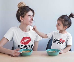 etsy, mommy daughter, and family shirts image