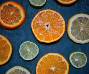 blue, citrus, and fresh image