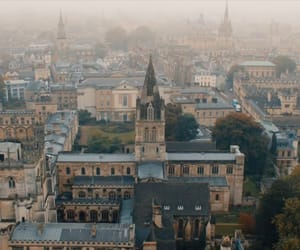 church, landscape, and magic image