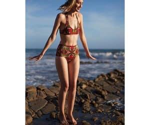 beachwear, summer, and clothing image