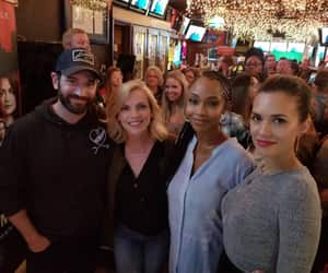 yaya dacosta, torrey devitto, and chicago fire image