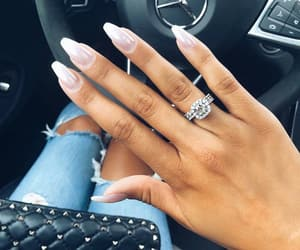 diamond, fashion, and nails image
