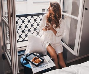 aesthetic, breakfast, and hotel image