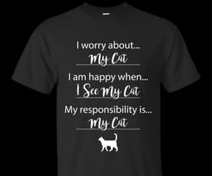 cat print dress, cute cat clothes, and clothes with cats on them image