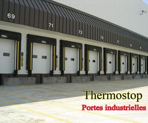 industrial doors, acoustic doors, and aircraft hangar doors image