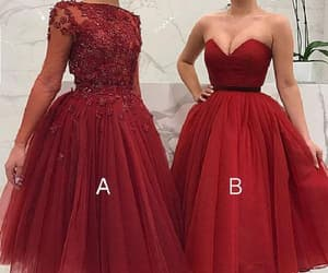 short prom dresses, burgundy evening dresses, and cheap evening dresses image