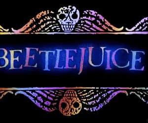 beetle juice, gif, and Halloween image