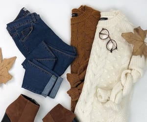 outfit, autumn, and boots image