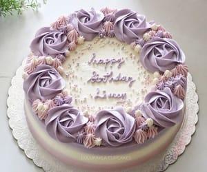cake, happy birthday, and pink image