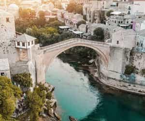 Bosnia, mostar, and nature image