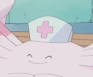 gif, nurse, and pokemon image