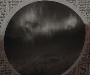 creepy, dark mark, and harry potter image