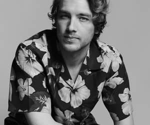 cody fern, actor, and black and white image