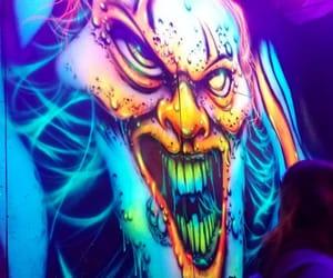 art, evil, and Halloween image