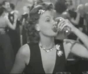 gif, greta garbo, and two-faced woman image