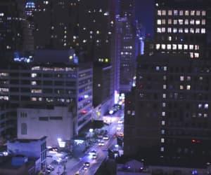 city, light, and music image
