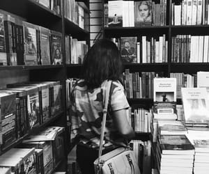 books, girl, and happy image