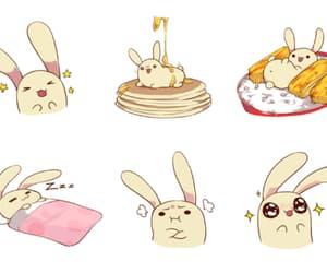 anime, asia, and bunny image