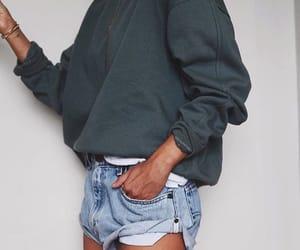 fashion, short jeans, and potd image