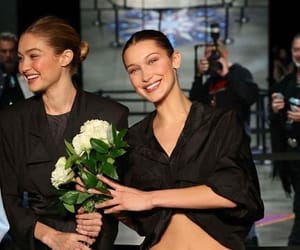 gigi hadid, bella hadid, and model image