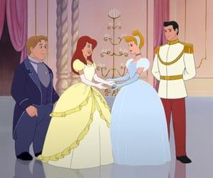 couple, princess, and sister image