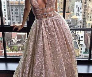 dress, fancy, and sparkle image