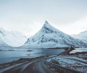 cold, road, and roadtrip image