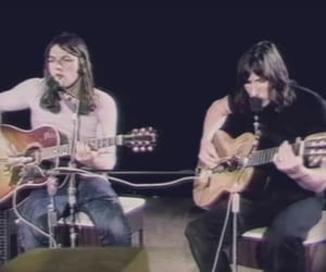 roger waters, david gilmour, and Pink Floyd image