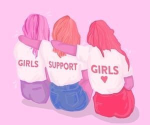 girls, empowerment, and feminism image