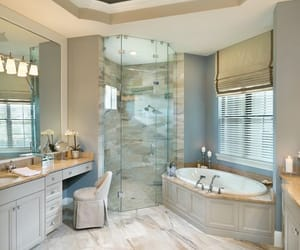 bathroom, home, and chic image