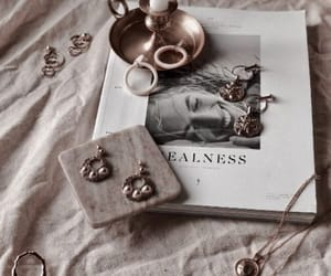 accessories, book, and jewellery image