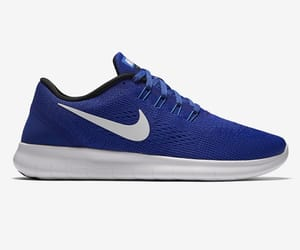blue, dark, and flyknit image