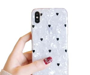 heart, iphone casing, and iphone x image