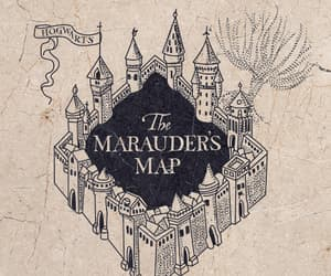 gif, marauders map, and harry potter image