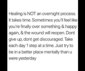 broken, healing, and quote image