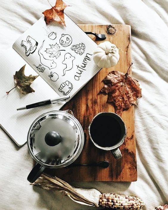 coffee, Halloween, and theme image