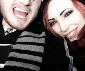 aww, motionless in white, and couple image